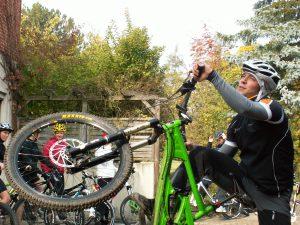 Mountainbike im Altmühltal